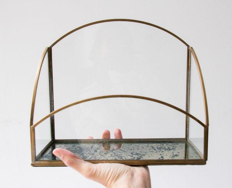 Porte courrier en verre Chehoma - maison mathuvu