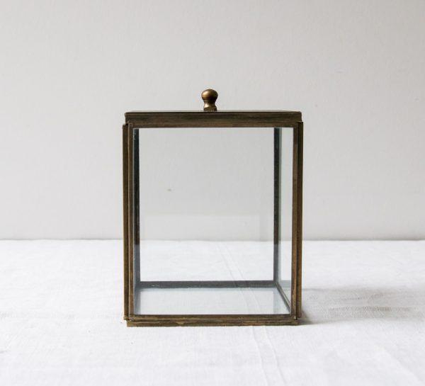 Boîte en verre - Irma Chehoma - maison mathuvu