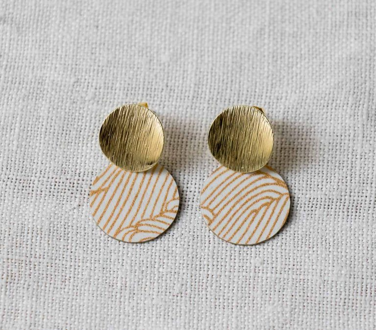 Boucles d'oreilles - Lili Rose #2 Maison mathuvu