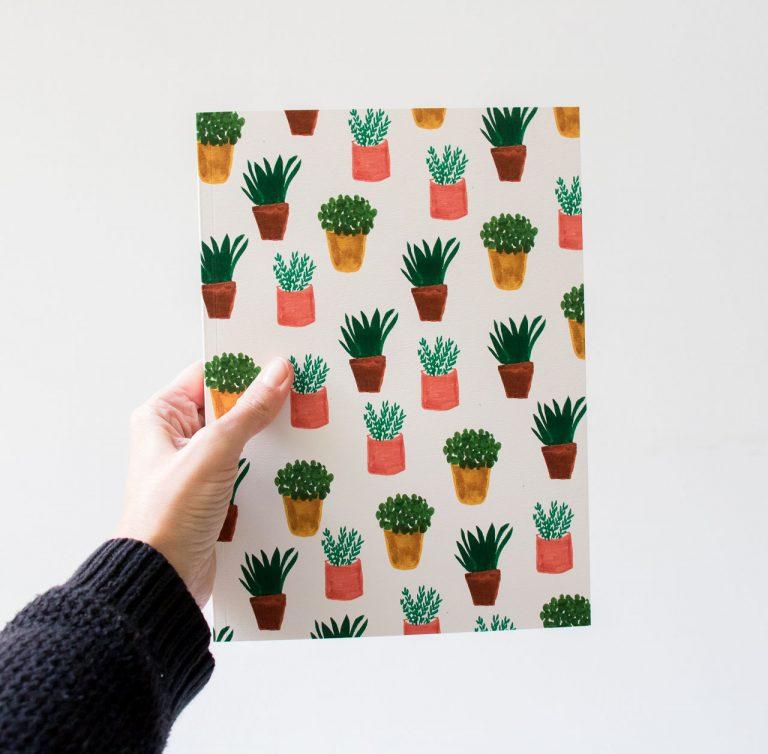 Gros carnet - Plante Maison mathuvu