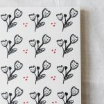Gros carnet - Fleur Maison mathuvu