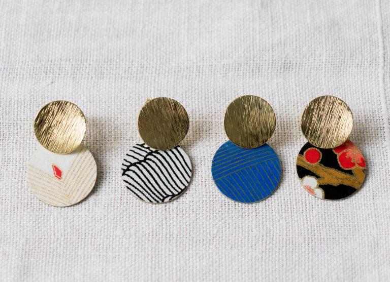 Boucles d'oreilles - Lili Rose #1 Maison mathuvu