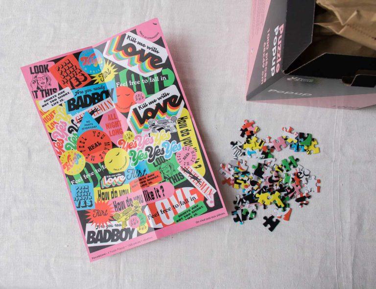 Puzzle - Popup Piece & love - maison mathuvu