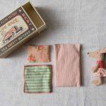 Box souris - Little sister Rose Maileg Maison Mathûvû