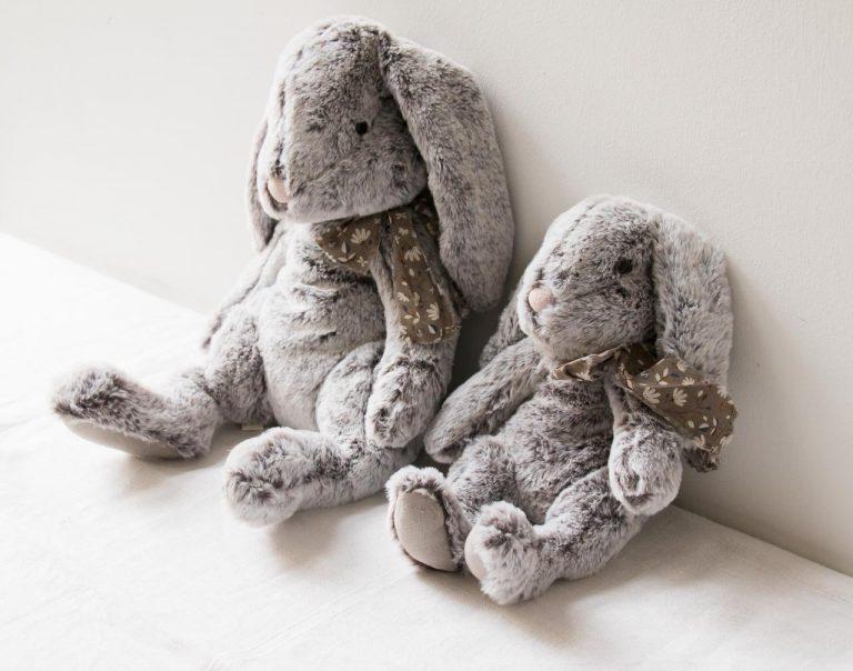 Peluche lapin - Fluffy Maileg - maison mathuvu