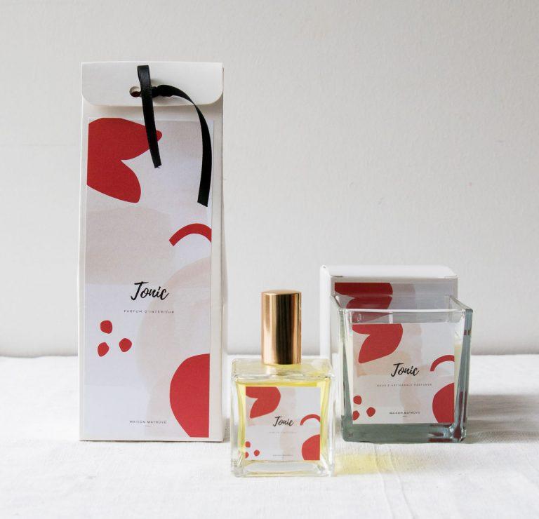 Parfum d'intérieur - Tonic maison mathuvu