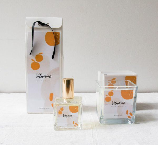 Parfum d'ambiance - Vitamine maison mathuvu