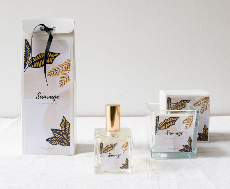 Parfum d'intérieur - Sauvage maison mathuvu