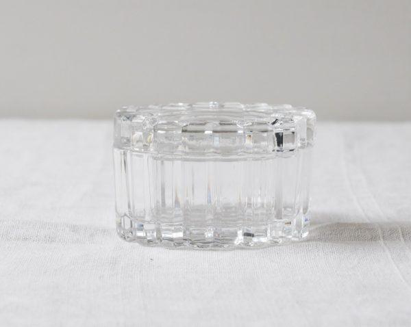 Petite boîte en verre ovale Pièce chinée - maison mathuvu