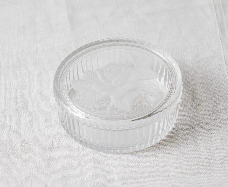 Boîte en verre - Rose Pièce chinée - maison mathuvu