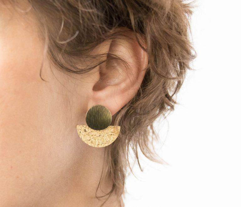 Boucles d'oreilles - Juno Miniko - maison mathuvu