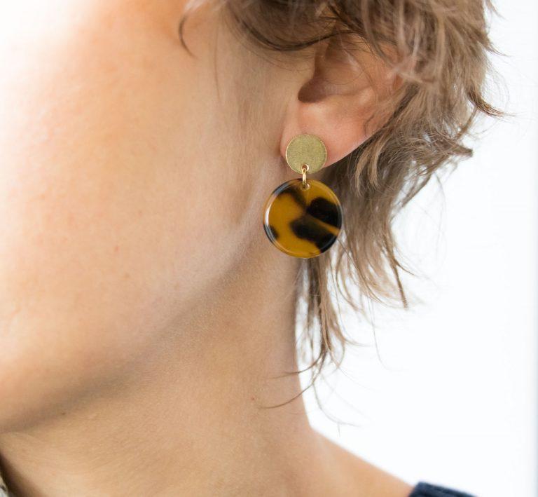 Boucles d'oreilles - Enzo Miniko - maison mathuvu