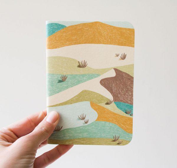 Carnet de poche - Désert Atelier bobbie - maison mathuvu