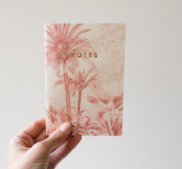 Carnet de poche - Pink forest All the ways to say - maison mathuvu