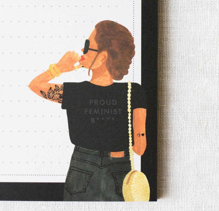 Bloc-notes - Feminist All the ways to say - maison mathuvu