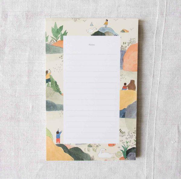 Bloc-notes - Archipel Petit gramme - maison mathuvu