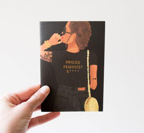 Carnet de poche - Feminist All the ways to say - maison mathuvu