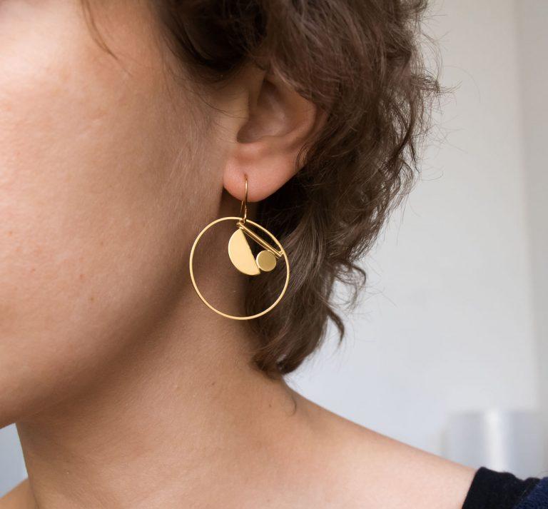 Boucles d'oreilles - Faan Maison mathuvu