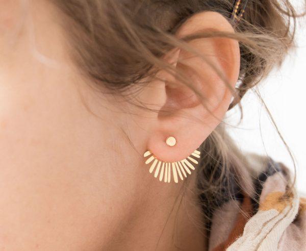 Boucles d'oreilles - Palma Shlomit ofir - maison mathuvu