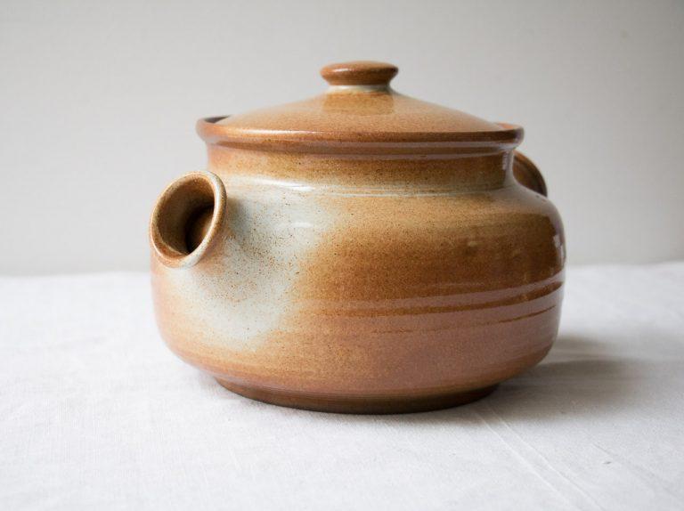 Soupière terracotta Pièce chinée - maison mathuvu