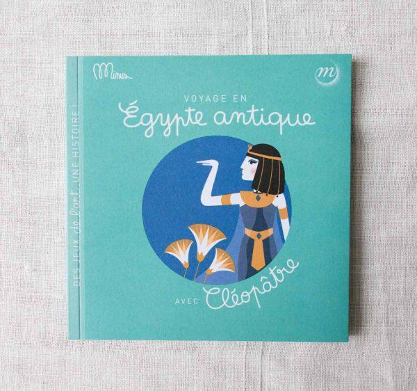 Voyage en Egypte antique Minus éditions - maison mathuvu