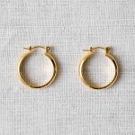 Boucles d'oreilles - Chunky Hoop Shlomit ofir - maison mathuvu
