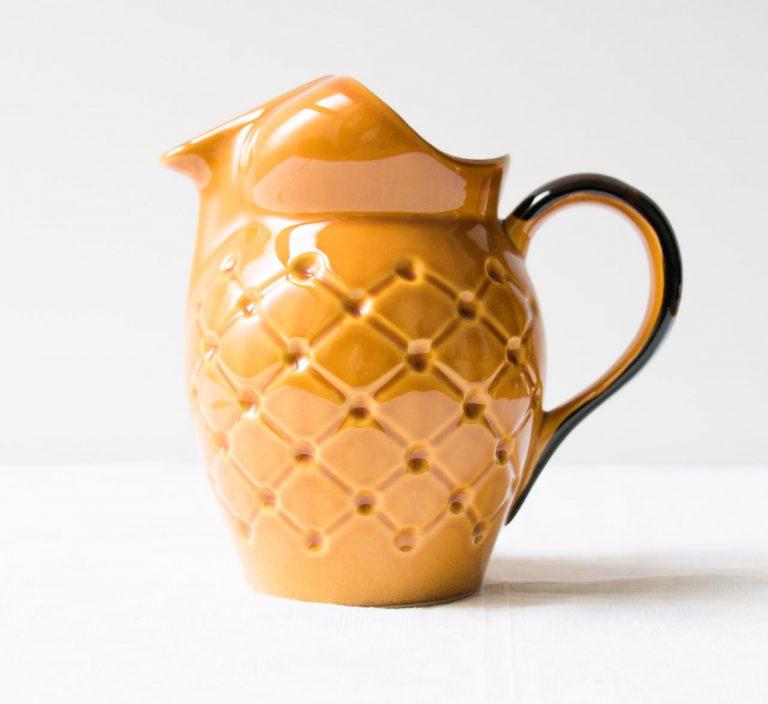 Pichet ananas Pièce chinée - maison mathuvu
