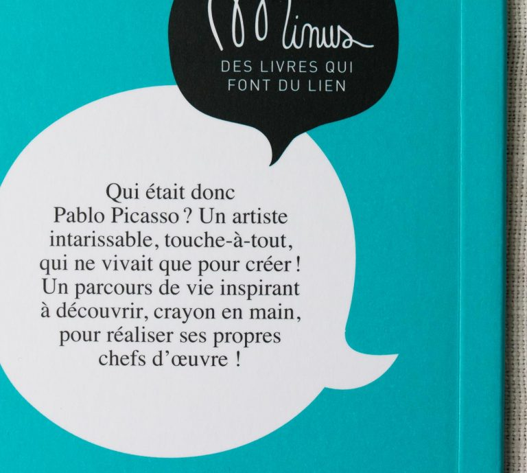 Il était une fois Picasso Minus éditions - maison mathuvu