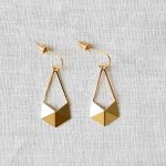 Boucles d'oreilles - Cubism Long Shlomit ofir - maison mathuvu