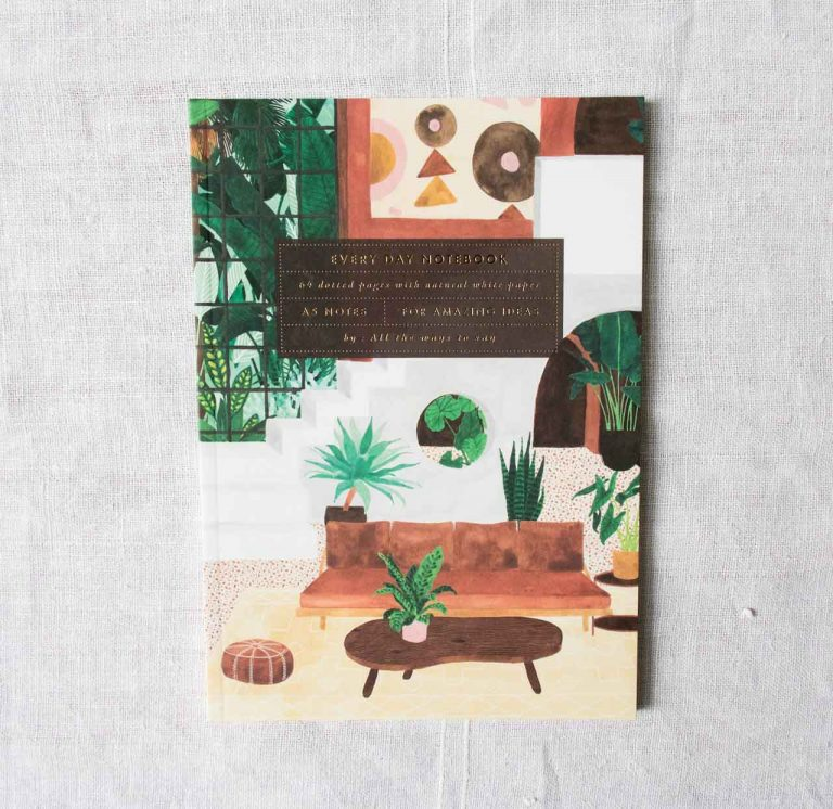 Carnet A5 - Vintage items All the ways to say - maison mathuvu