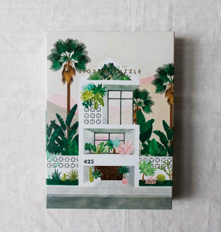 Puzzle - Dream house All the ways to say - maison mathuvu
