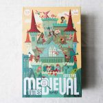 Puzzle - Medieval times Londji - maison mathuvu