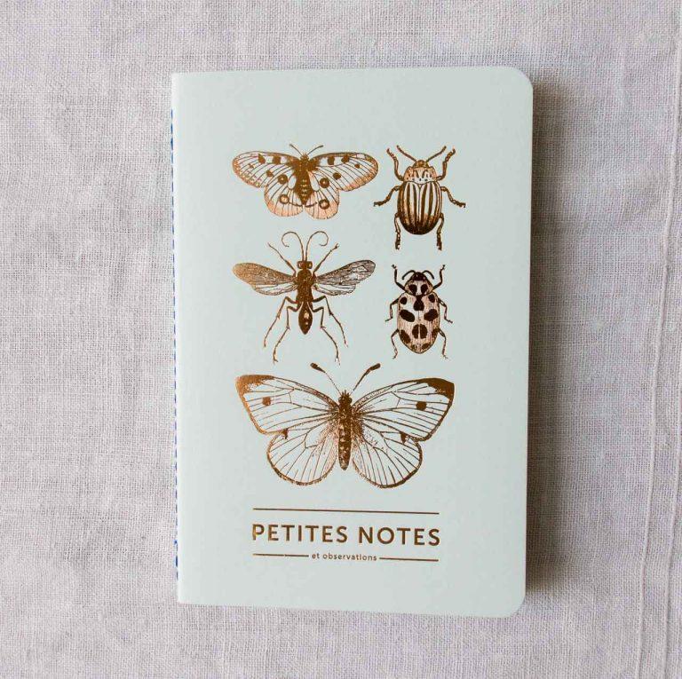 Carnet fin - Papillon Les éditions du paon - maison mathuvu