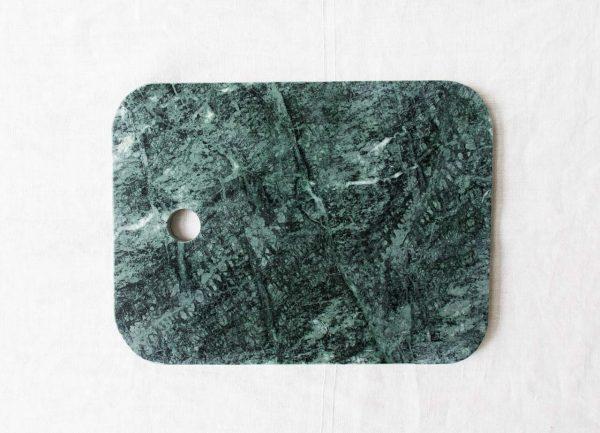 Planche en marbre vert Chehoma - maison mathuvu