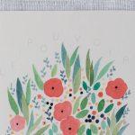 Carte - Le pouvoir des fleurs Petit gramme - maison mathuvu