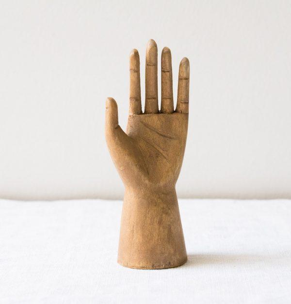 Petite main en bois - Teis Bloomingville - maison mathuvu