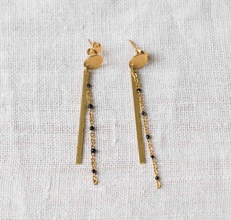 Boucles d'oreilles - Noor minikho - maison mathuvu