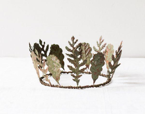 Couronne de feuilles chehoma - maison mathuvu