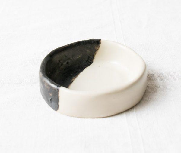 Coupelle noir et lin - Yaya maison mathuvu