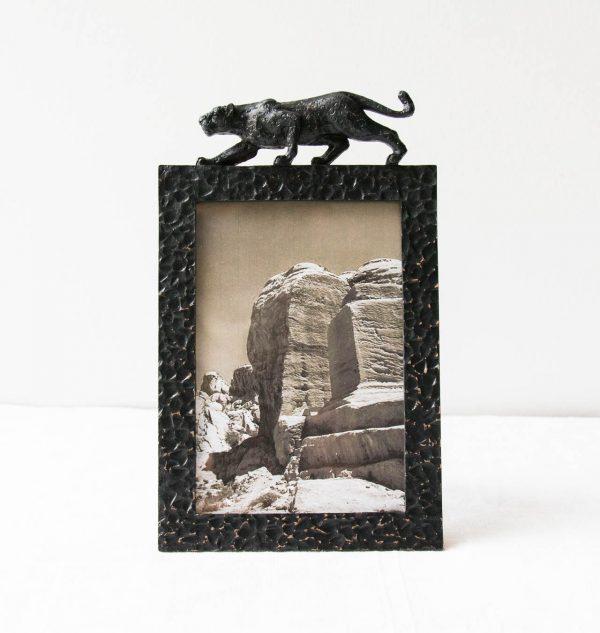 Cadre - Panthère noire Chehoma - maison mathuvu