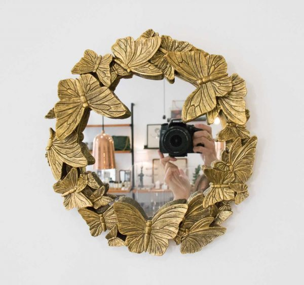 Miroir - Papillon Chehoma - maison mathuvu