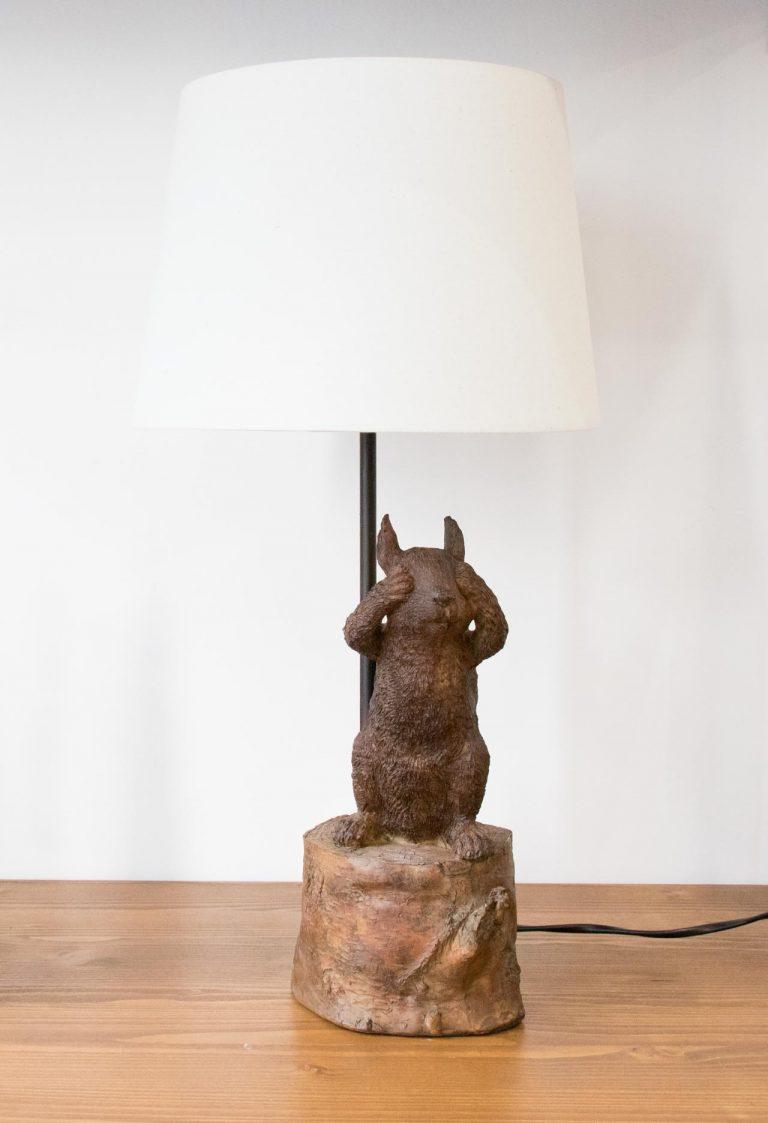 Lampe - Écureuil Chehoma - maison mathuvu