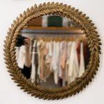 Miroir feuilles Chehoma - maison mathuvu