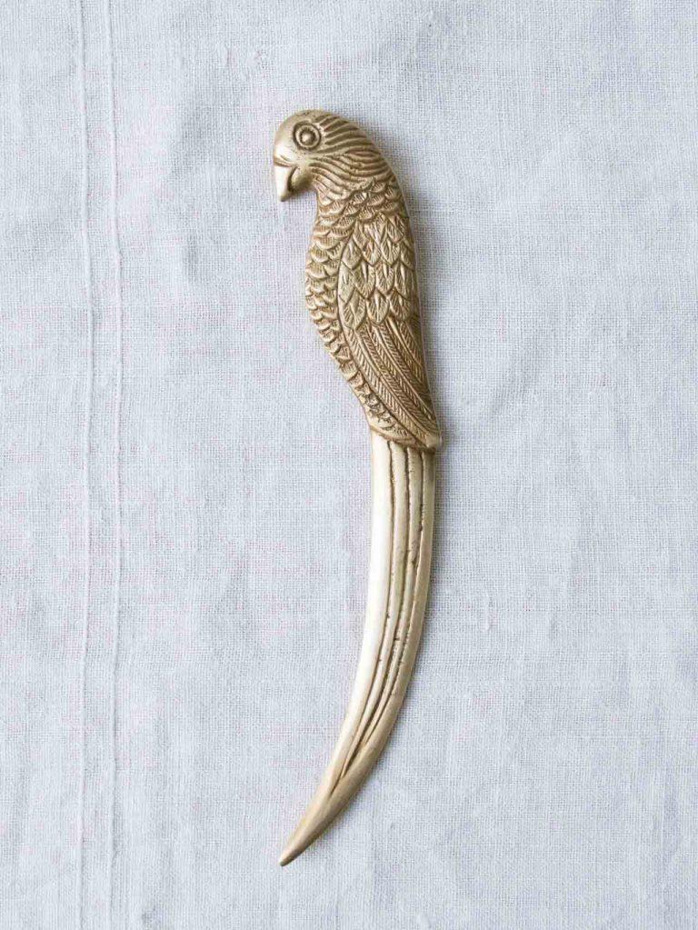 Coupe-papier perroquet Chehoma Maison Mathûvû