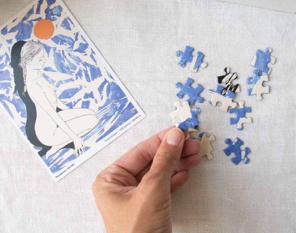 Puzzle - Eclipse Piece & love - maison mathuvu