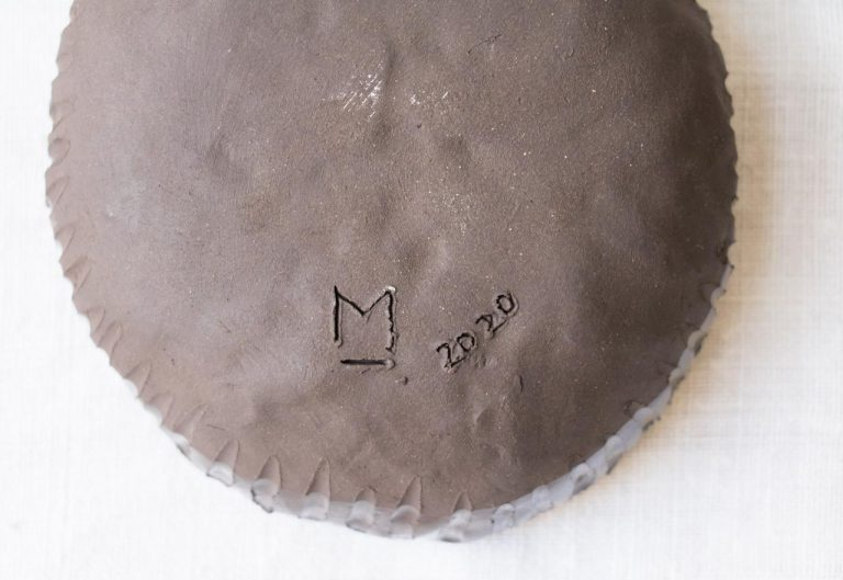 Coupelle marron - Tray Maison mathuvu