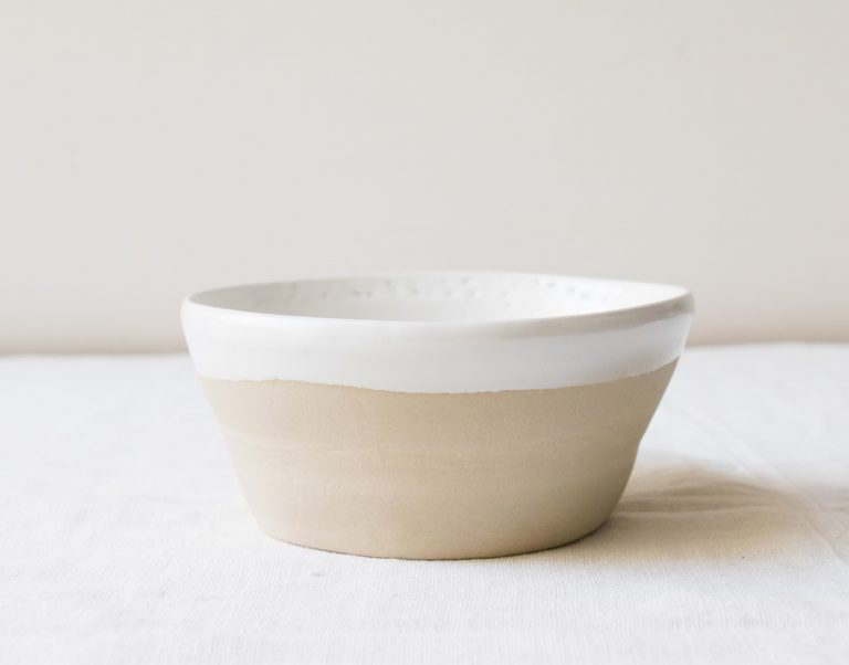 Coupelle Loun - Blanc Maison mathuvu