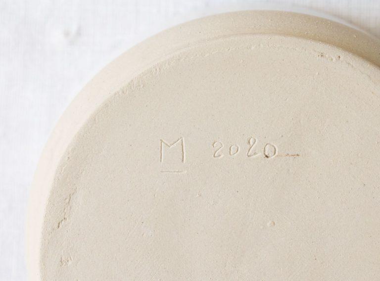 Coupelle avec encoche - Loun blanc Maison mathuvu