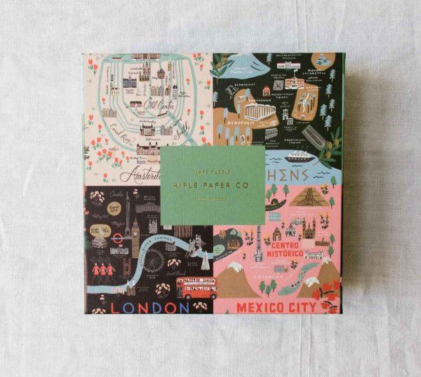 Puzzle - Maps Rifle paper co - maison mathuvu