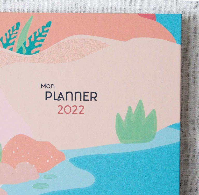 Planner 2022 - Oasis Histoire d'écrire Maison Mathuvu